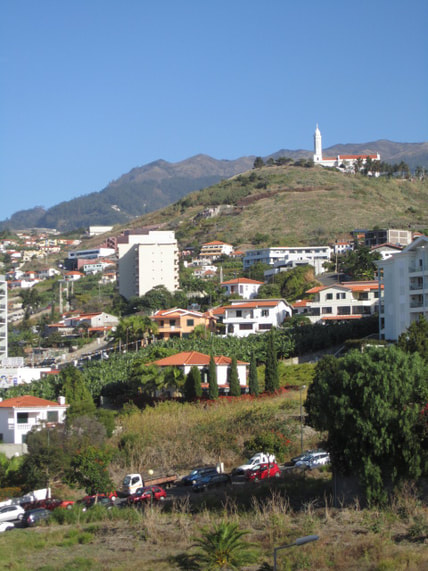 Funchal Madeira self catering accommodation Mountain view