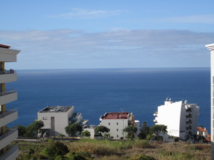 Funchal Madeira self catering accommodation Sea view