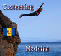 Costeering Madeira - fun outdoor activity - Picture